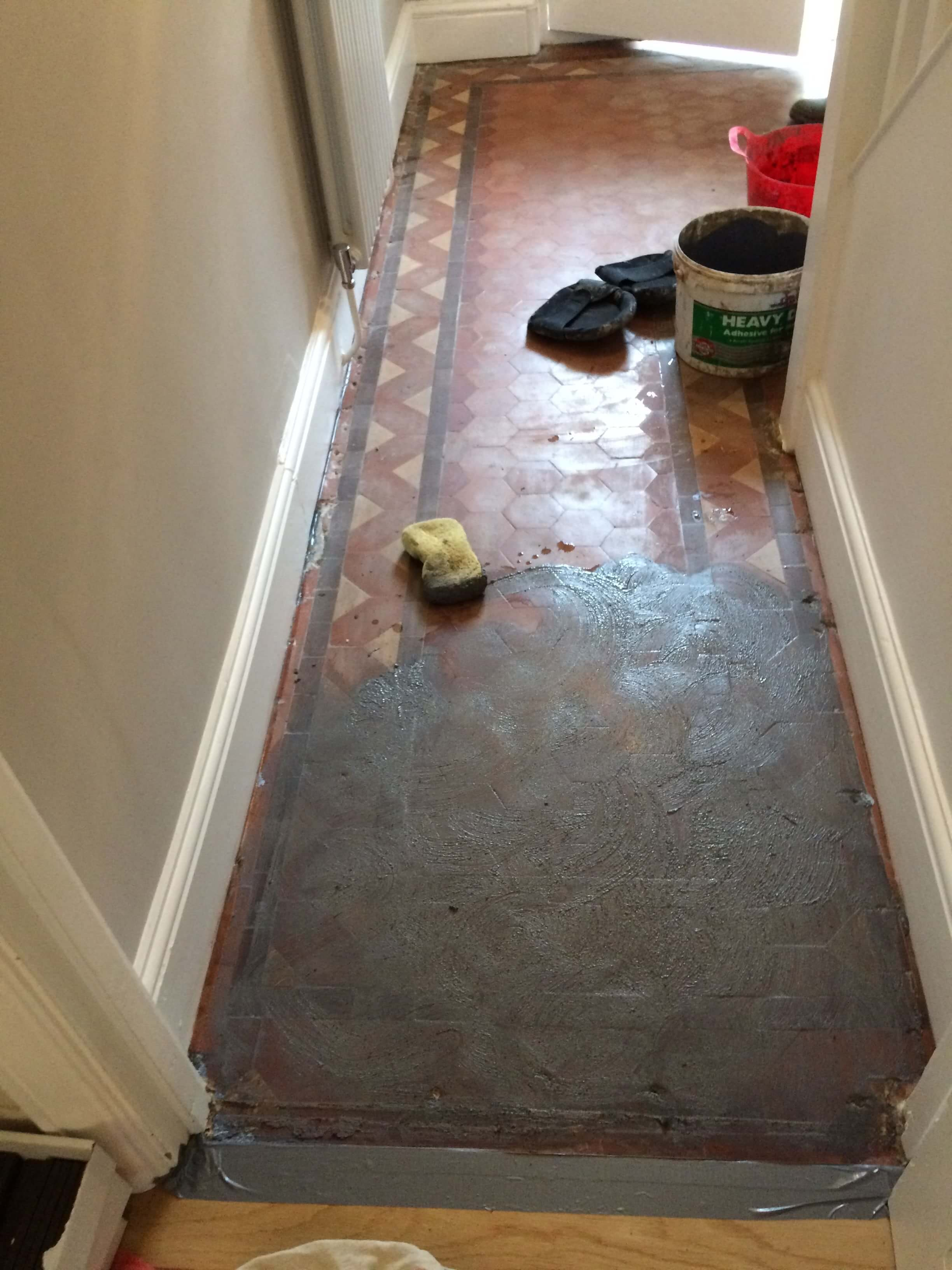Victorian floor guide victorian floors after the floor is thoroughly cleaned and allowed to dry a slurry coat of neat primer and leveller powder is mixed to form a thick liquidpaste and applied dailygadgetfo Image collections